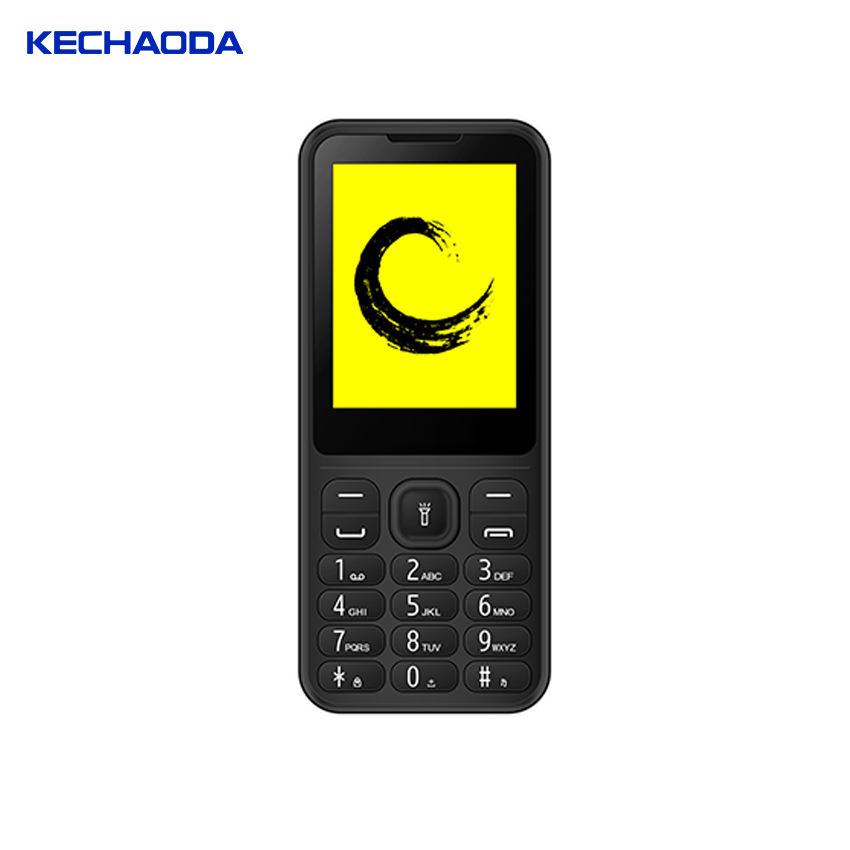 KECHAODA M6 2.4 inch unlocked bar phone GSM Micro Sim usb Style Bar Phone