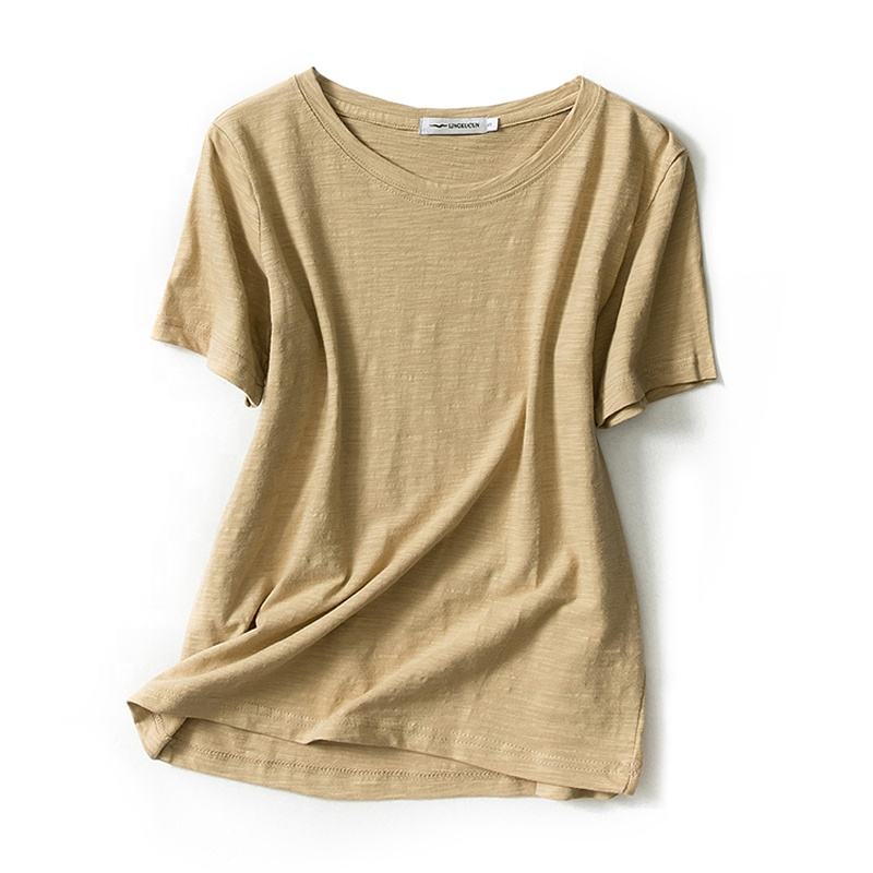 2020 wholesale hemp clothing custom made women hemp t shirts