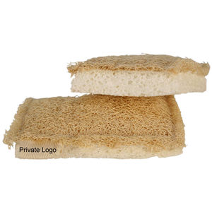 Customized Natural Biodegradable Wood Pulp Cotton Loofah Sponge Cleaning Tool Kitchen Cellulose Sponge