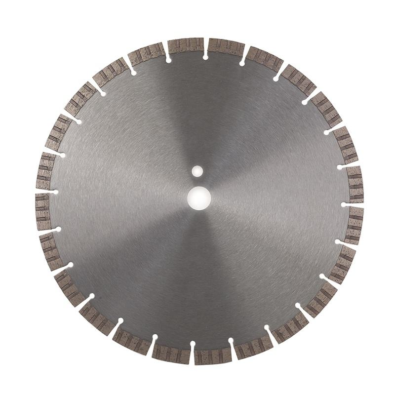 350*25.4mm segmented diamond saw blade for cutting reinforced concrete