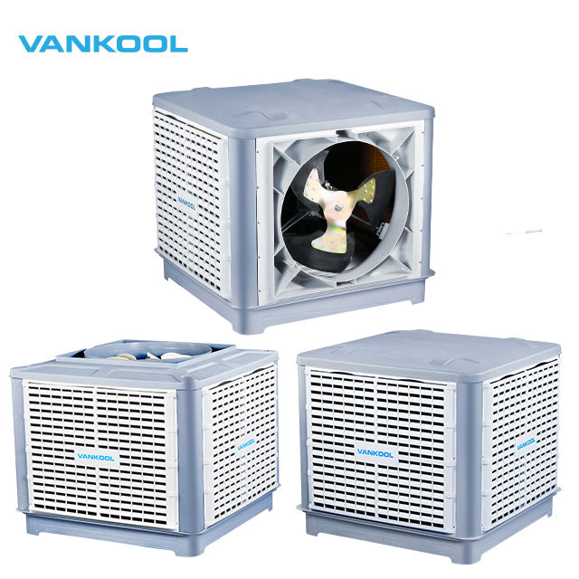 Industrial air conditioner by water cooling with 25000 CMH airflow