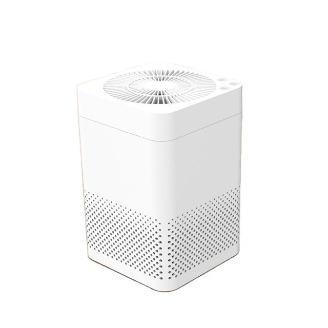 UV light smart portable small desktop air purifier for office purification