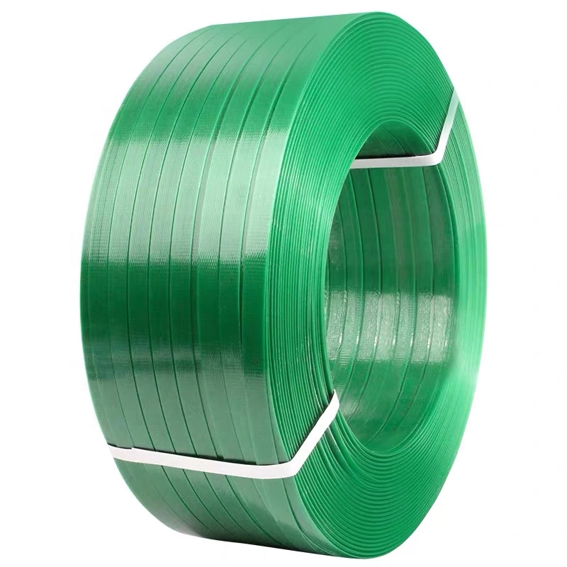 2020 16Mm Groene Pet Pakriem Plastic Band Banding Pet Polyester Strapping 1 Koper