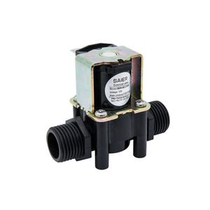 12V DC 24V Electric PP Plastic Nylon Water Dispenser Solenoid Ball Valve Mini One Way Flow Control Valves Electric Control Valve