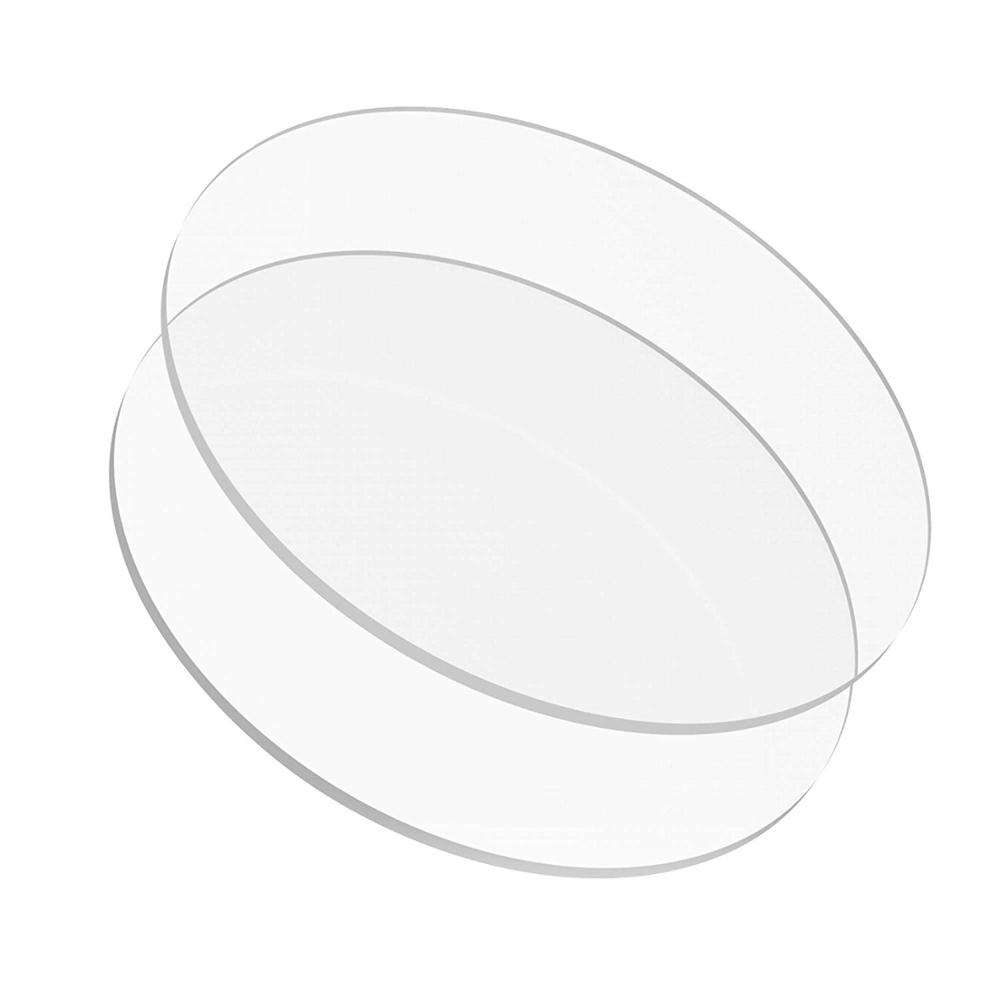 Aanpassen Clear Transparante Ring Craft Ronde Acryl Disc