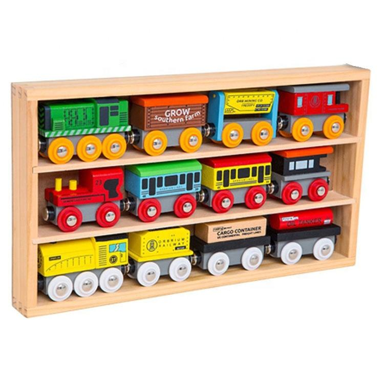 Hot Sale 2021 Kids Wooden Toy Train, Children Wooden Train Toy T160001