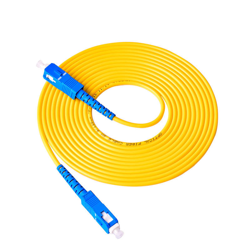 <span class=keywords><strong>SC</strong></span>-<span class=keywords><strong>SC</strong></span> SM SX 3 Mm 20M 9/125um <span class=keywords><strong>SC</strong></span>/PC Patch Cord Fiber Optik Jumper kabel