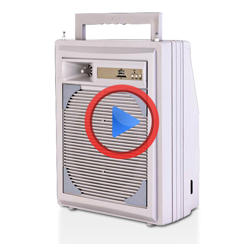 Low price portable karaoke player usb sd digital mp3 player amplifier