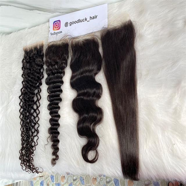Factory Direct Hair Vendor HD Lace Frontal Closure 100% Human Hair 4x4 2x6 5x5 13x4 13x6 HD 6x6 7x7