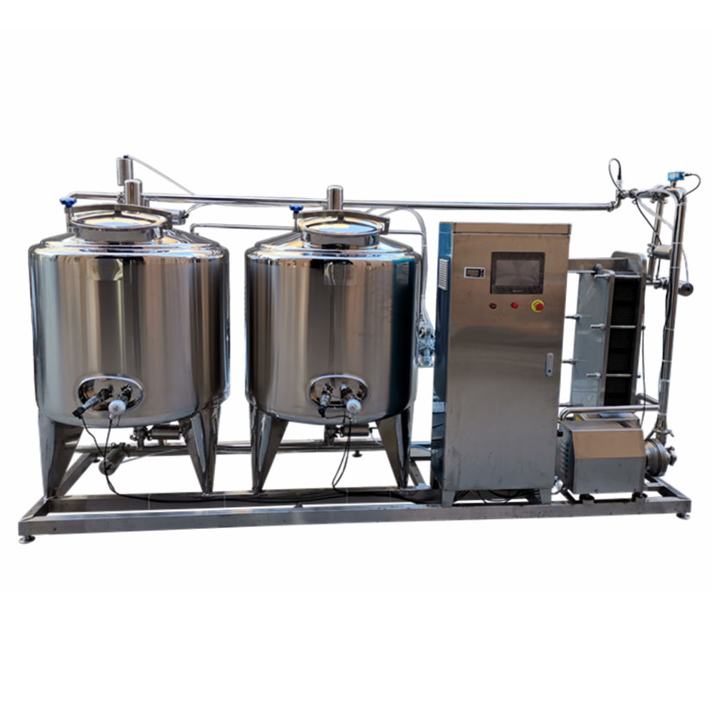 Hoge efficiency micro bier brouwerij <span class=keywords><strong>cip</strong></span> pijp wassen cleaning systeem apparatuur