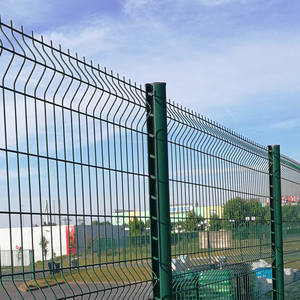 Cheap Price Outdoor Used Metal Wire Mesh Panels 3D Fence For Sale