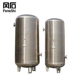 Stainless Steel 300 600 1000 L liter Receiver Air Tank High Pressure Compressor Air 300L 600L 1000L Gas Tank