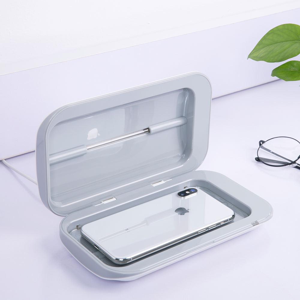 254nm Ultraviolet Disinfection UVC Lamp Phone Nipple UV Sterilization Flashlight