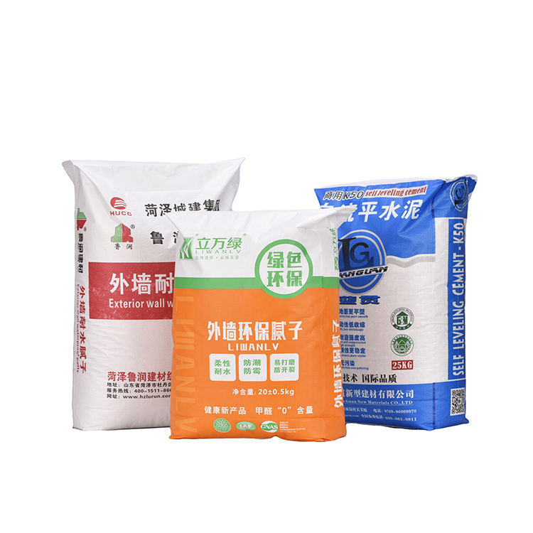 Customized Recyclable Moisture Proof PP Valve Bag Cement Packing Bag