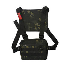 2020 New Functional Utility Designer Men Women's Front Chest Rig Vest Pack Bags for Outdoor Travel