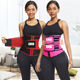 Feelingirl Custom Logo Double Belt Compression Plus Size Shapewear Women Corset Latex Waist Trainer Cincher