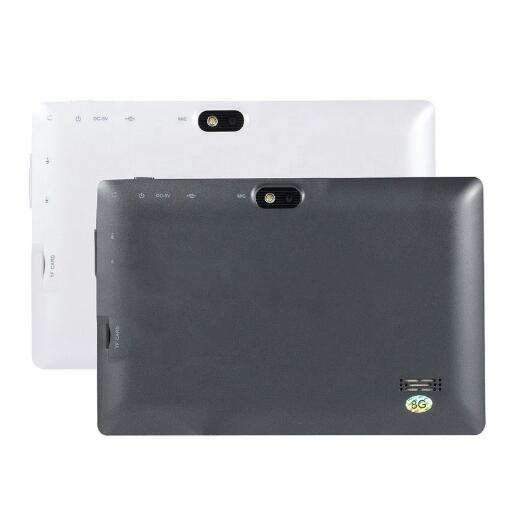 Zweite hand verwendet Tablet 7 Zoll <span class=keywords><strong>Allwinner</strong></span> A33 8GB ROM WIFI Android 4,4 1024*600 Auflösung Tablet Q88 schnelle versand
