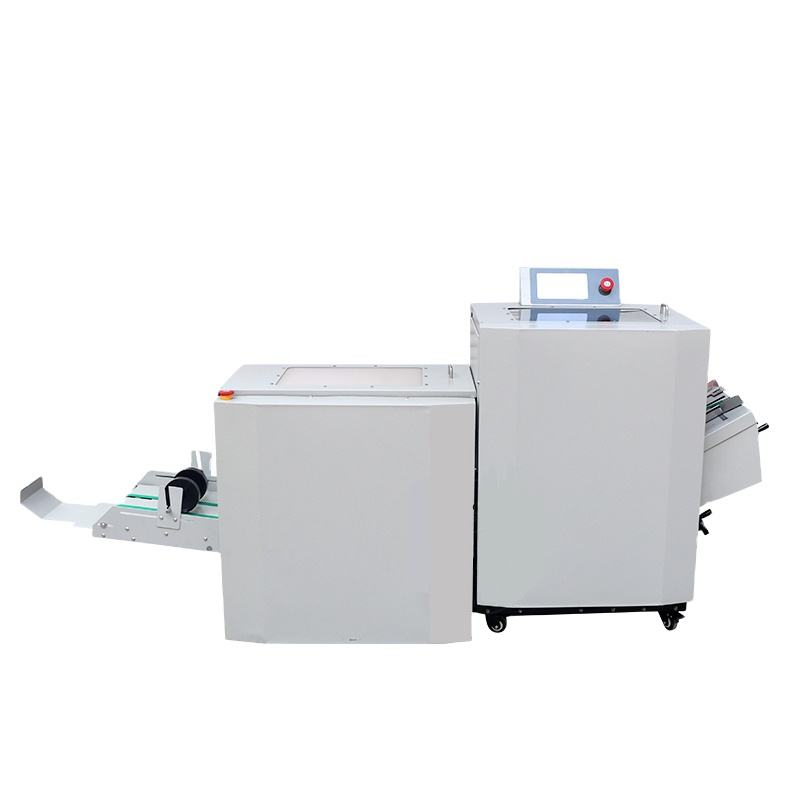 folding and cutting all-in one automatic booklet maker machine paper making machine