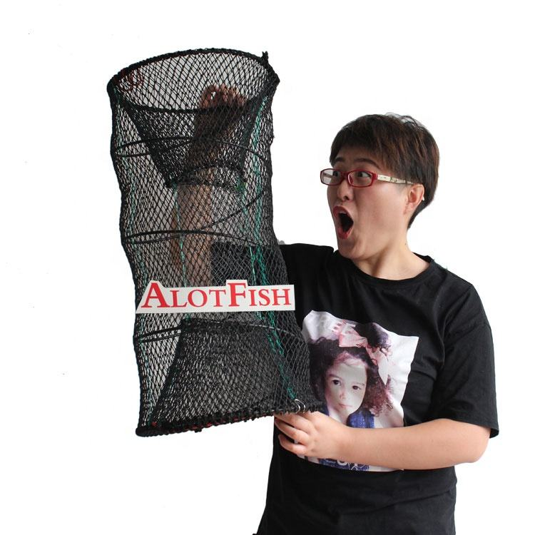 Best quality 30*60cm Commercial Spring Fishing Trap Lobster Crab Fish Cage Trap