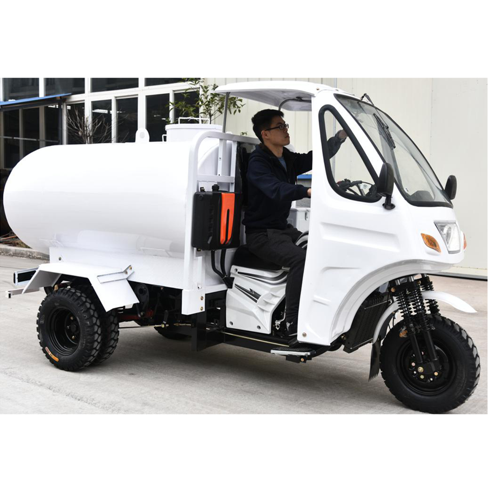 African new hot popular fashionable tank water tricycle tuk tuk three wheel motorcycle 250cc water tank tricycle