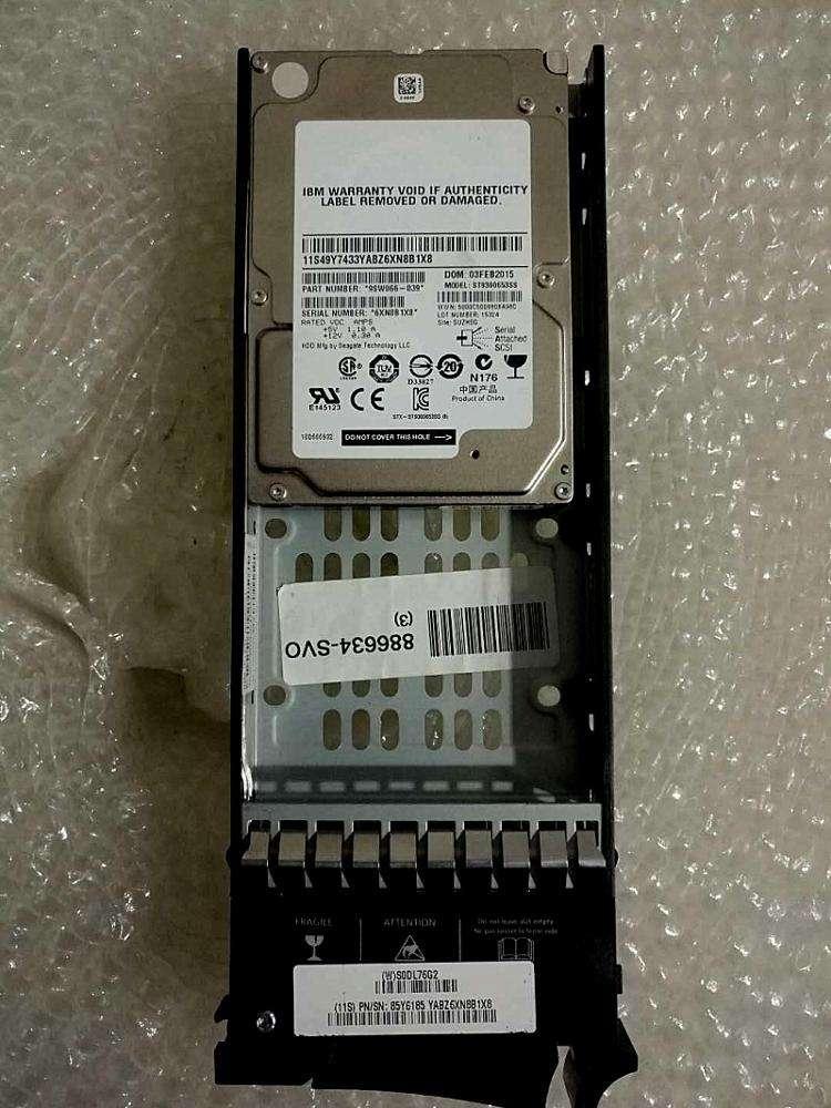 """90Y7667 IBM 300GB 15K 2.5/"""" SAS HARD DRIVE 90Y7671 W//O TRAY"""