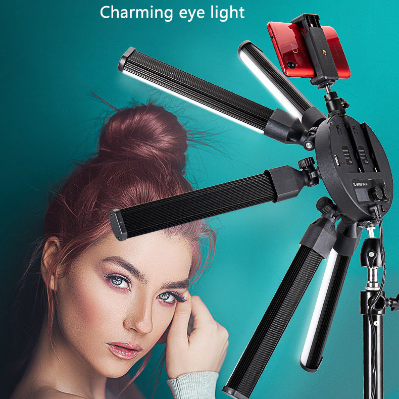 Photographic lighting lamp 40W bi color dimming changing led VIDEO ring fill light for Dslr
