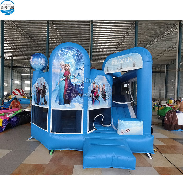 Cheap Bounce House Frozen Inflatable Bounce House Frozen Bouncy Castle For Kids