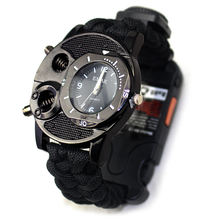 2020 New Products Outdoor Equipment Military Survival Sport Men Watch, Outdoor Survival Outdoor Tactical Army Paracord Watch/