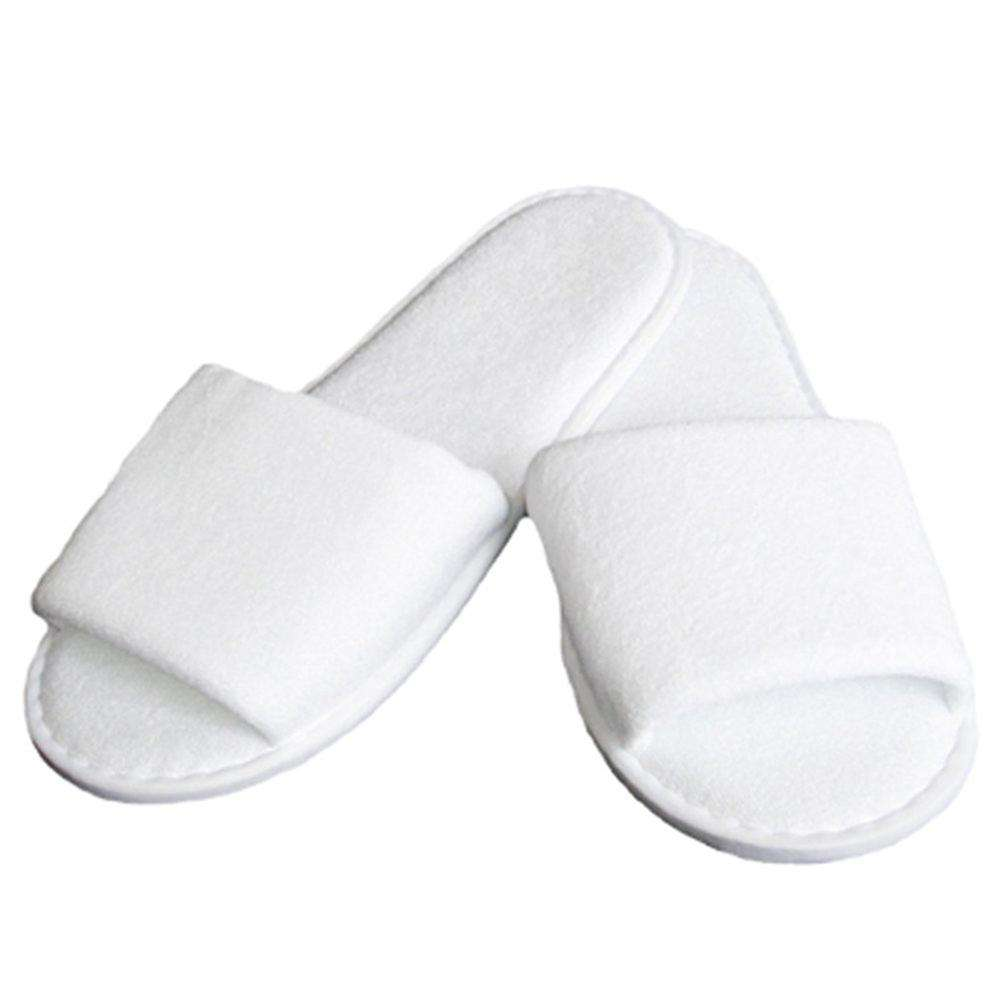 Hotel Ammenities Linen Spa Slippers Customized White Hotel Slippers