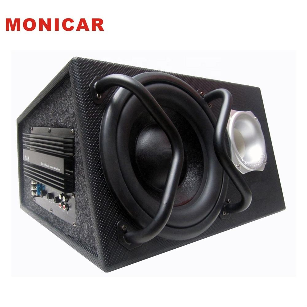 New 10inch trapezoidal leather surface car subwoofer,sub woofer speaker
