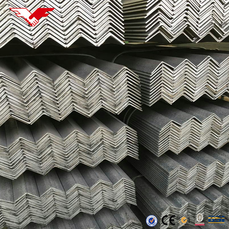 China Factory Price ASTM A36 Mild Steel Galvanized Angle Bar
