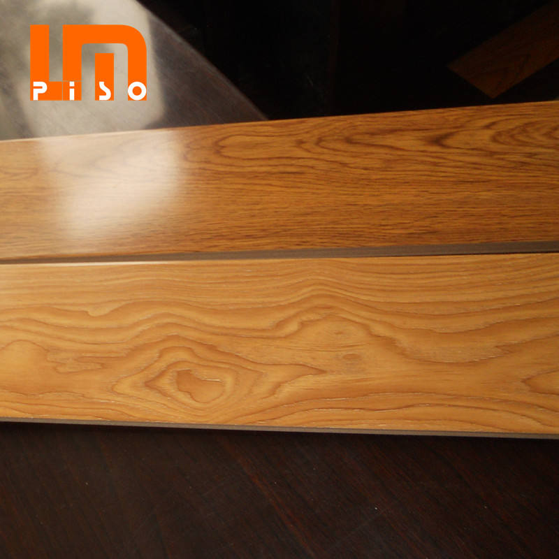 8.3mm 8mm hdf walnut wood surface laminated flooring 2019