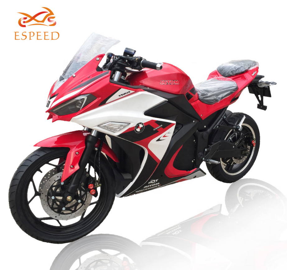 2020 New update design 72v 3000w big wheel bike electric motorcycle for Adult