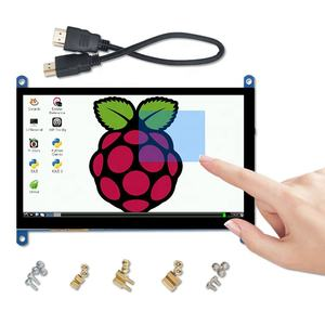 7 inch 800x480 raspberry pi lcd CTP display 7 inch 1024x600 lcd capacitive touchscreen driver board