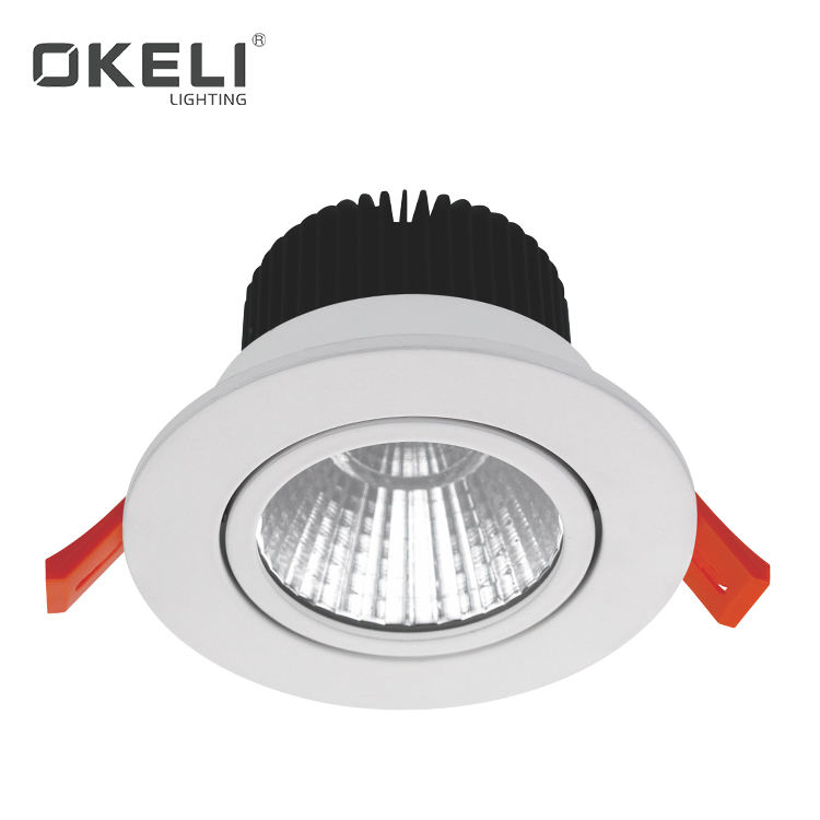 OKELI Best Quality Promotional LED Lighting Recessed Mounted 5W 10W 15W 20W 25W 30W 36W LED Downlight