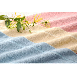 Japan customizable 100 percent cotton towel with a very soft touch