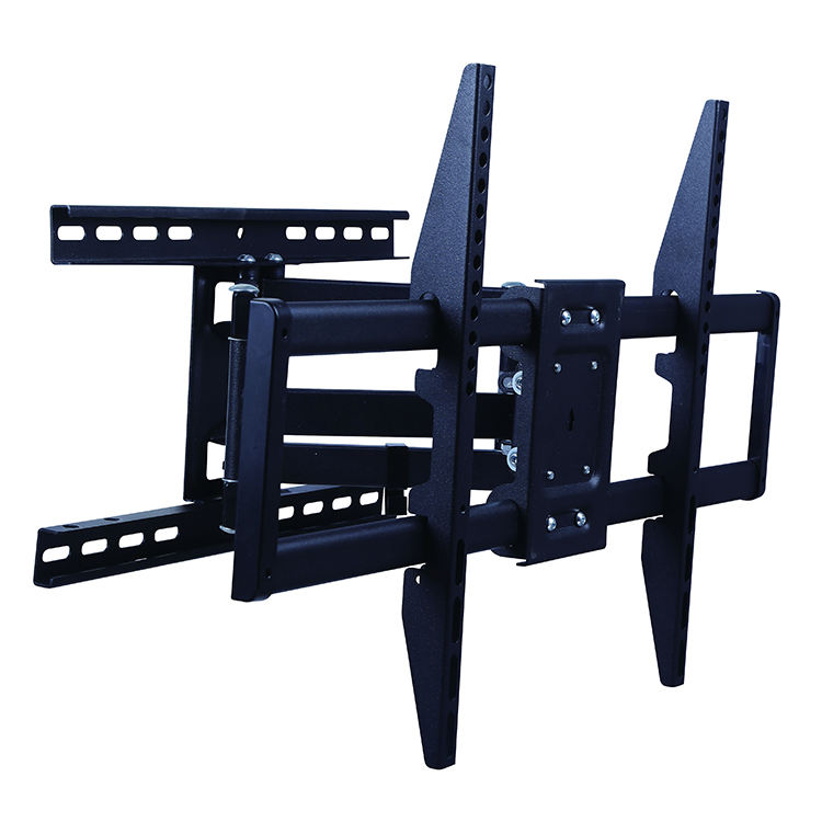 "Vesa 600*400 Full Motion Tv Wall Mount Bracket Tilt With Dual Articulating Arms For 37""-70""Led Lcd Oled Plasma Tv"
