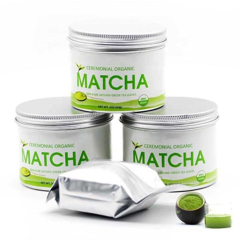 Free Sample Dropshipping Japanese Ceremonial Matcha Green Tea Powder
