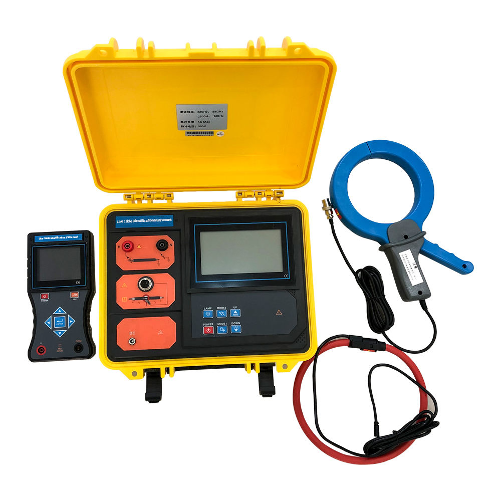 VLF Cable Identification Instrument Underground Electric Cable Detector High Voltage Wire Testing Equipment