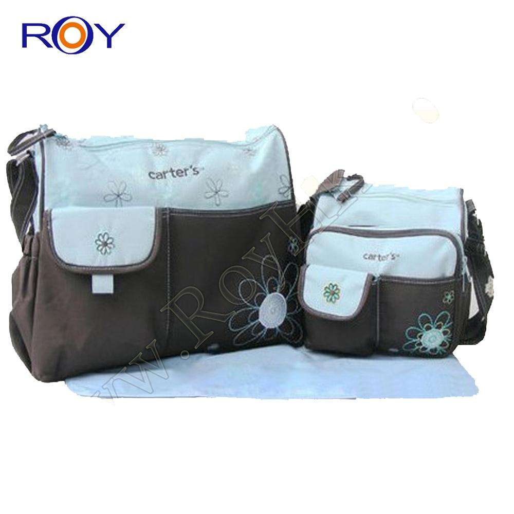 New Arrivals Custom Multifunctional Diaper bag for Mom/Mummy and Baby Nappy Change mat bag Wholesale Hot Sell Gift sets