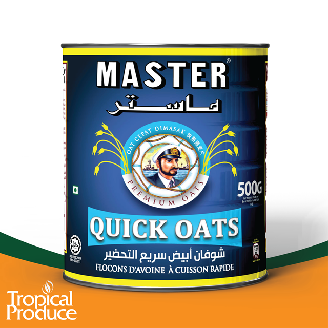 500g MASTER Quick Oats - Cans