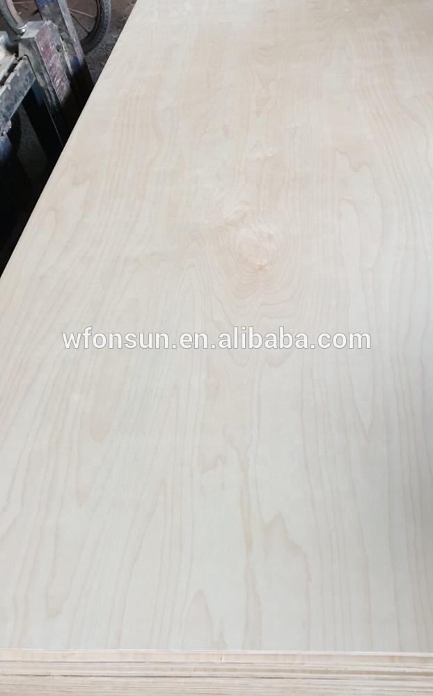 Hot Sale Russian Birch Plywood 3mm Sheets Manufacturer