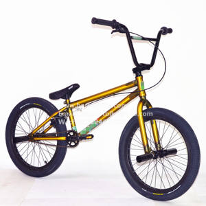 Custom design matt translucent color BMX 20 inch freestyle bicycle bike