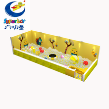 Customized foam pool small indoor playground toddler soft play for kindergarten