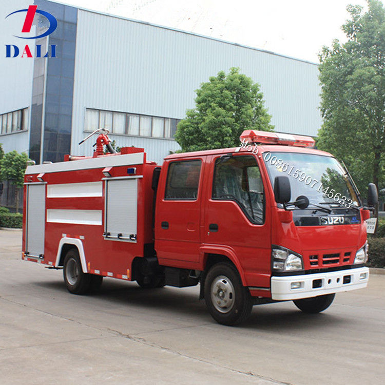 DLQ good quality factory sale brand new airport standard small i-suzu fire truck price