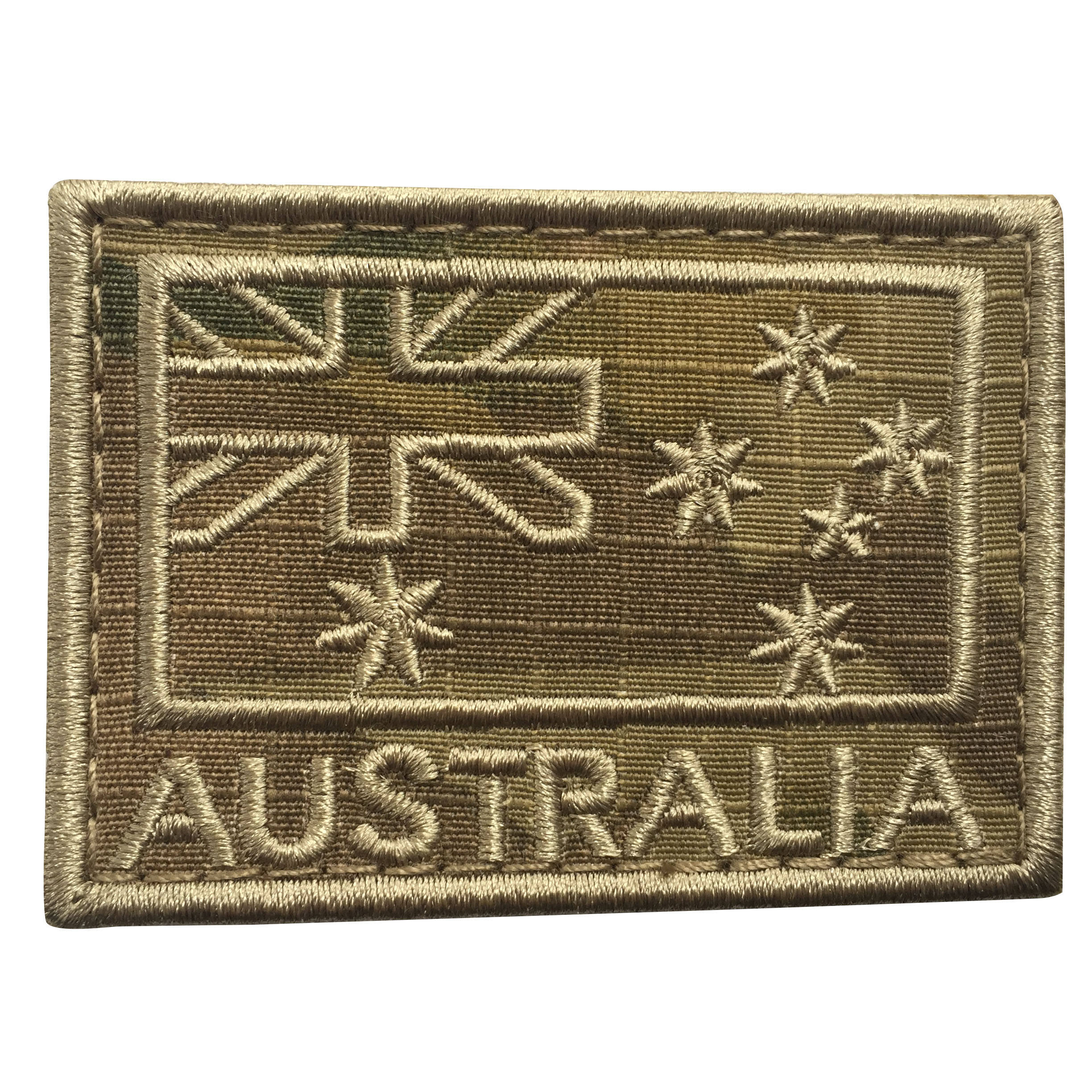 La Bandiera Australiana di Colore 2.95*1.96 Pollici Tactical Us STATI UNITI Bandiera PVC Hook e Loop Uniforme Patch Sub Dued bandiera patch