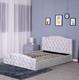 Bed Velvet Bed Modern Upholstered Grey Crushed Velvet Gas Lift Storage Bed For Wholesale