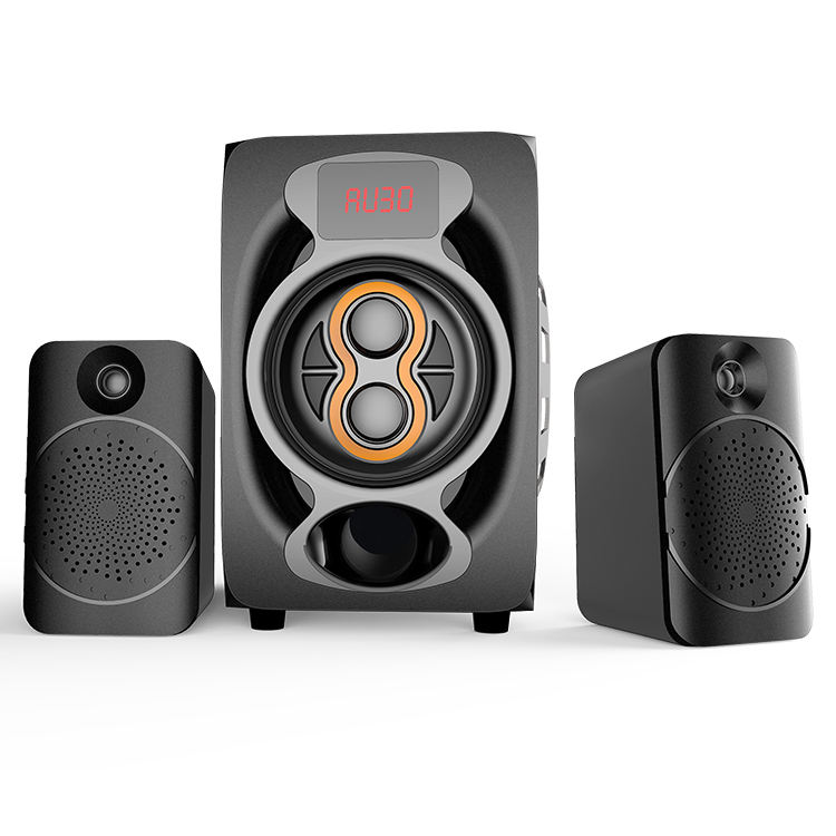 Terbaik Keras Aktif 2.1 Home Theater Super Bass Multimedia Profesional