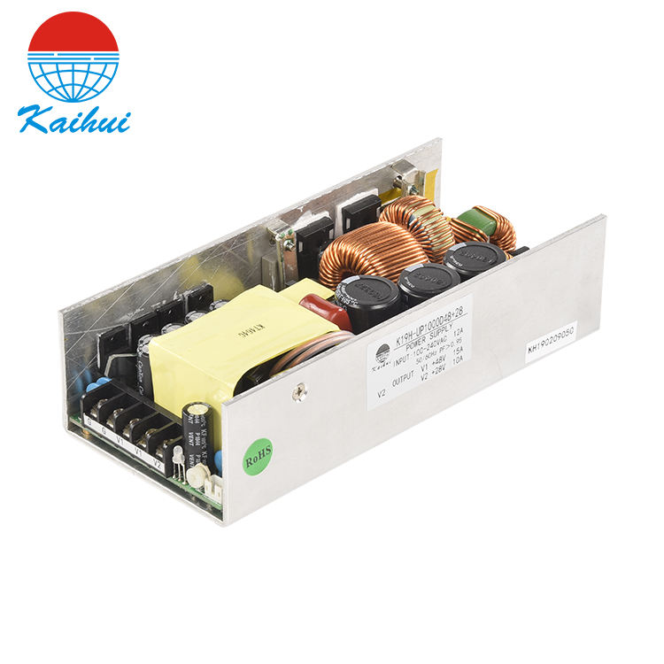 220Vac to 24Vdc 1000W open frame switching power supply 42a