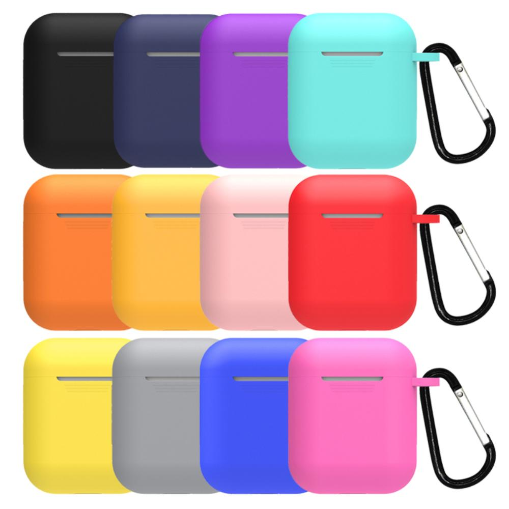 Wholesale Price Portable Case Silicone earphone cover Compatible Earphone Cases Ultra Thin Air Pods Protector